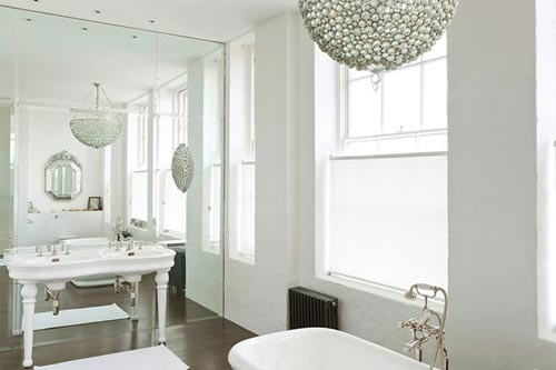 Klassiek moderne badkamer uit Londen | Interieur inrichting