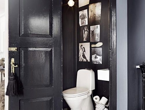 Klassiek toilet van interieurstylist Marie