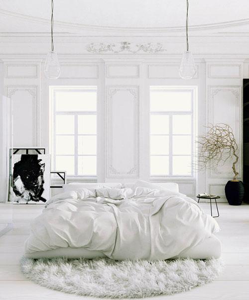 klassieke slaapkamer met een moderne inrichting  interieur inrichting, Meubels Ideeën
