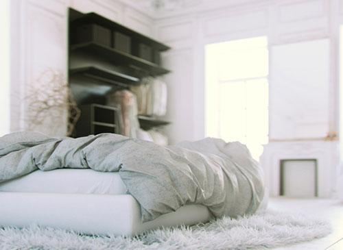 Klassieke slaapkamer met een moderne inrichting