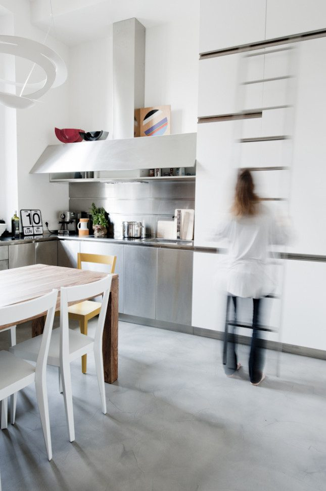 Klein appartement van 30m2 met een stoer industrieel interieur interieur inrichting - Van interieur appartement ...
