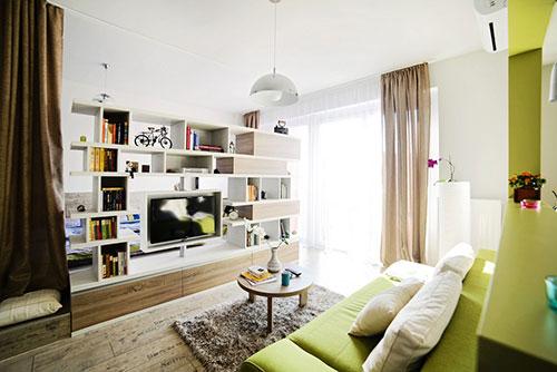 klein appartement met natuur thema | interieur inrichting, Deco ideeën