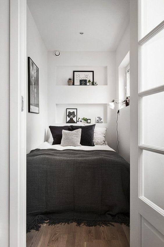 klein bed kleine slaapkamer
