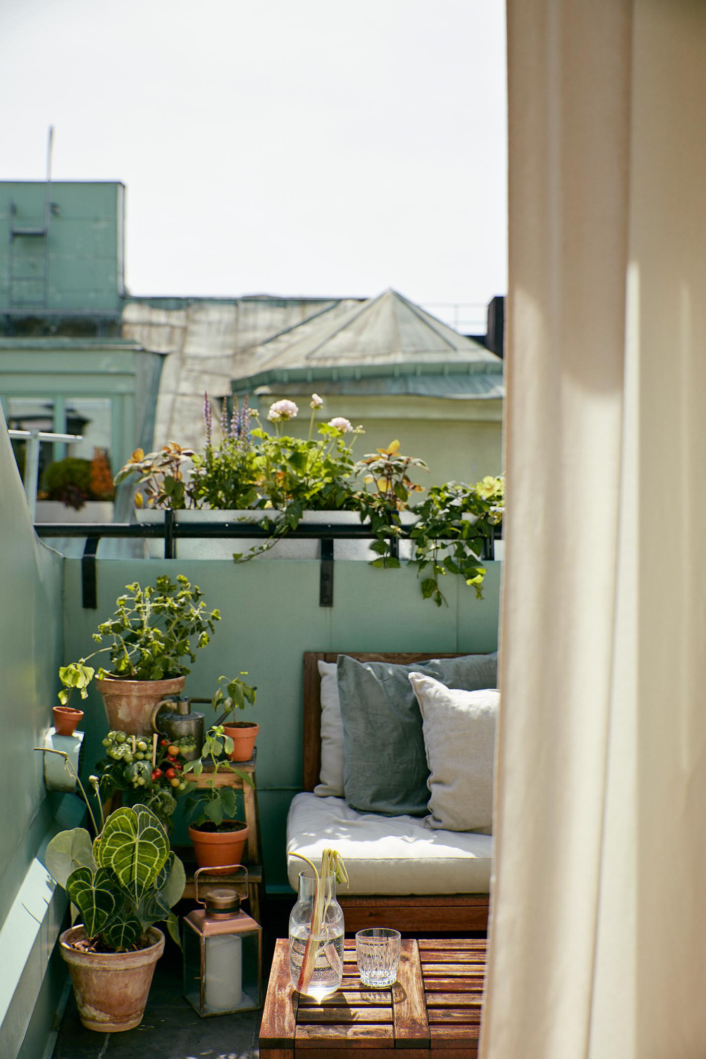 Balcony Garden Ikea