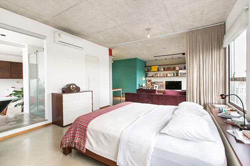 Klein industrieel loft appartement interieur inrichting for Klein appartement design