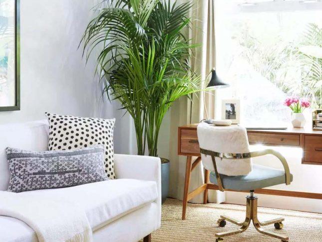klein kantoor inrichten herinrichten woonkamer