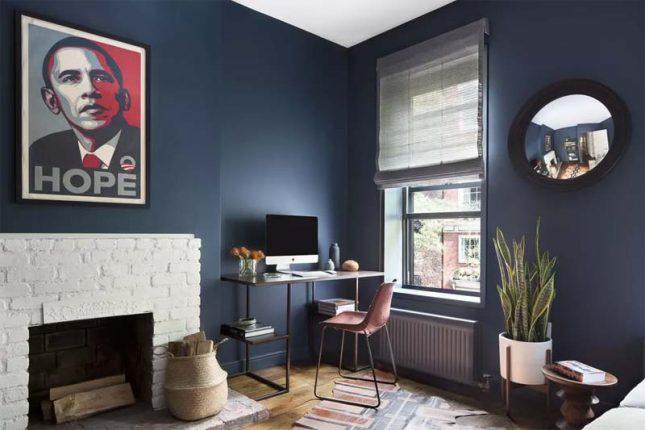 klein kantoor inrichten huis kleine meubelen