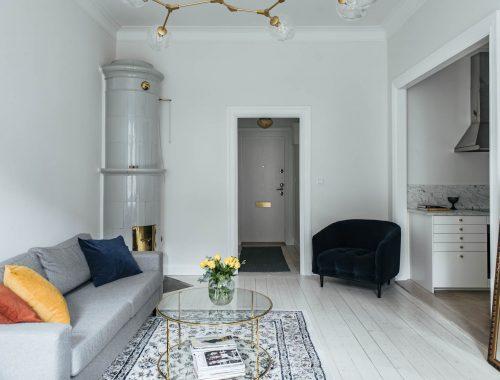 Klein maar fijn appartement in Stockholm