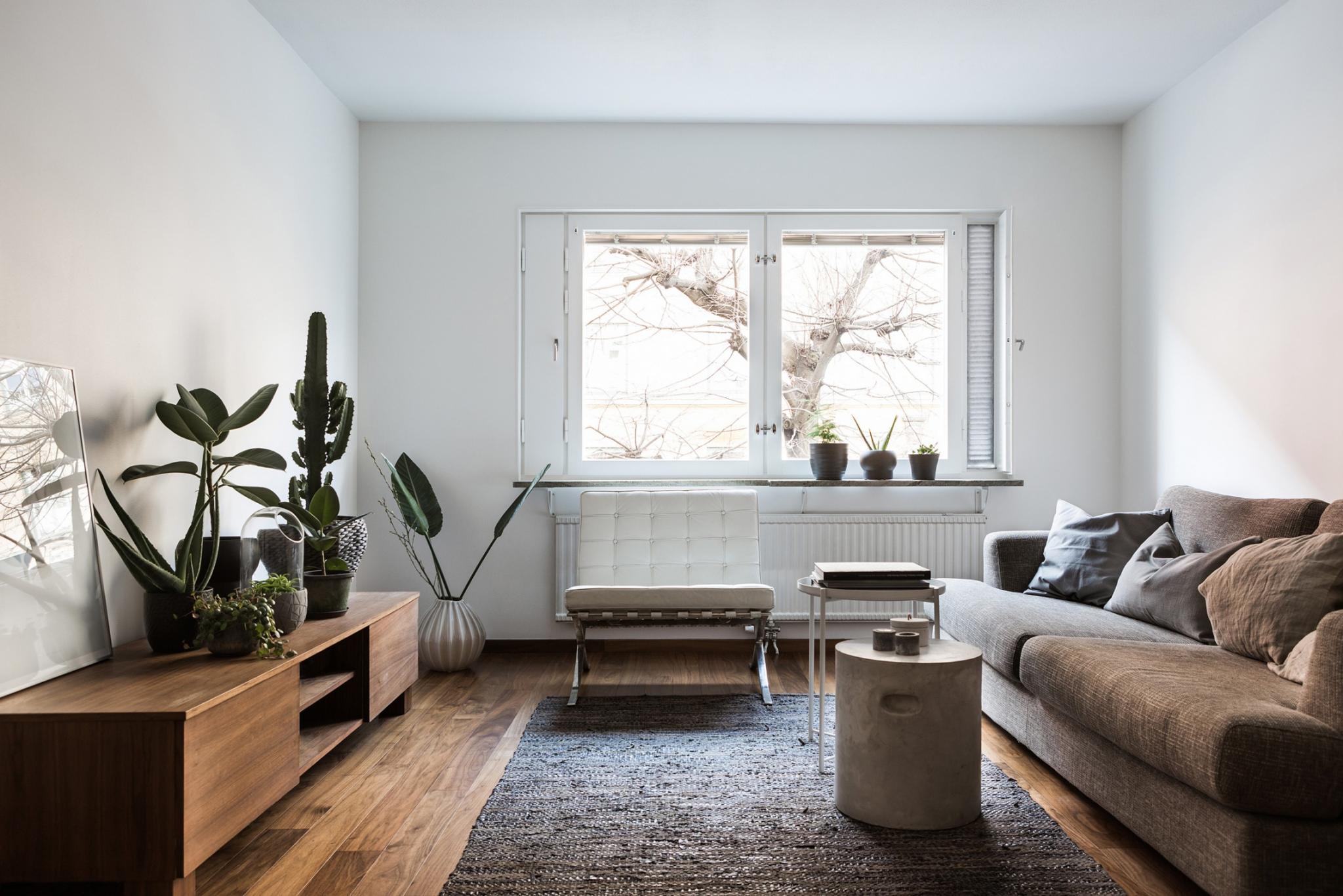 Klein modern appartement van m interieur inrichting