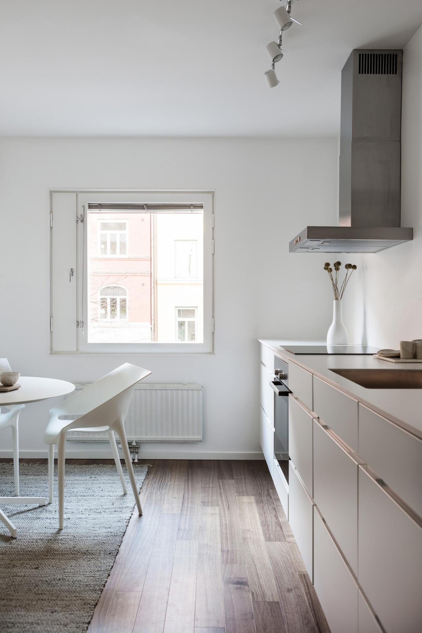 Klein modern appartement van 55m2 interieur inrichting - Van interieur appartement ...