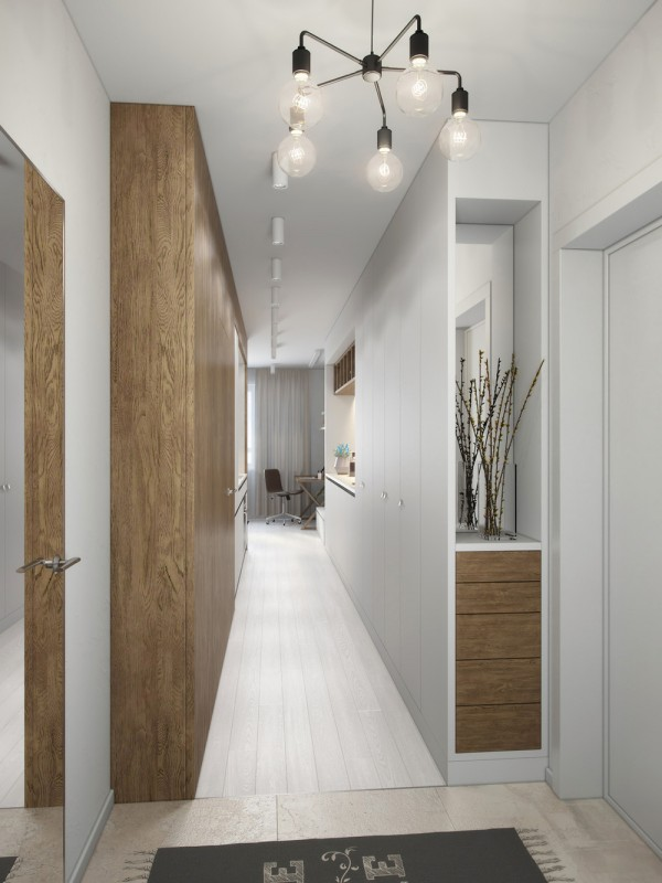 Klein studio appartement van 29m2