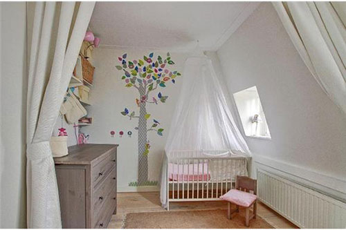 Inrichting Babykamer Muur.Kleine Babykamer Inrichten Interieur Inrichting