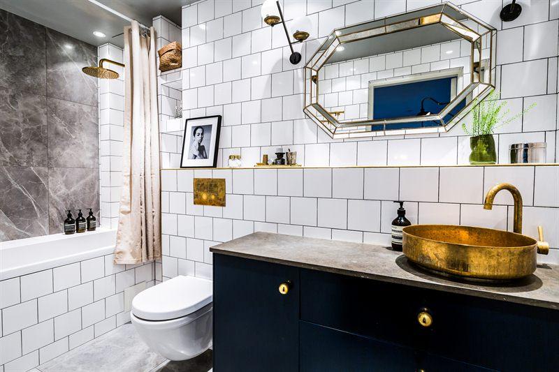 Kleine badkamer chique badkamer mét bad