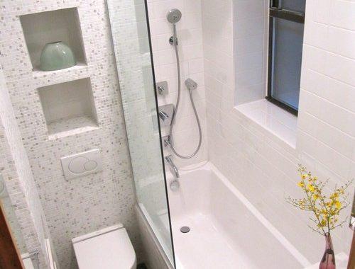 Kleine badkamer ideeën door Wagner Studio Architecture