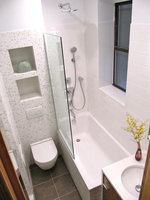 Kleine badkamer ideeën door Wagner Studio ArchitectureInterieur ...