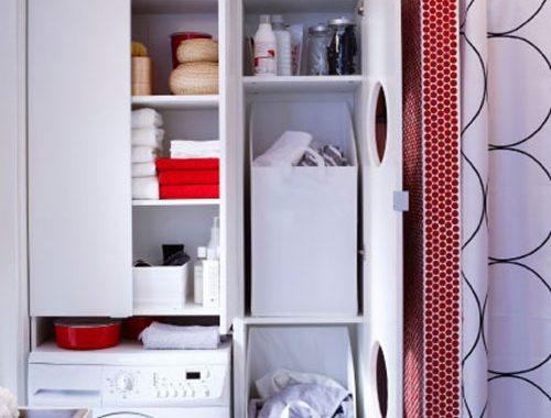 Kleine badkamer van IKEA