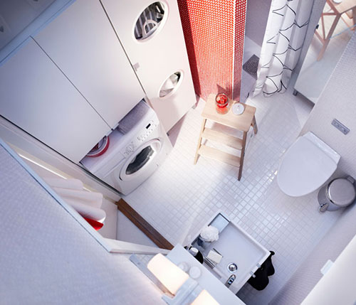 kleine badkamer van ikea | interieur inrichting, Badkamer