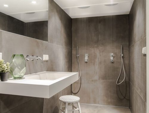 Kleine badkamer inrichting van 6m2