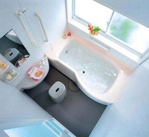 Mini Badkamer Met Bad ~ Kleine badkamer met bad  Interieur inrichting