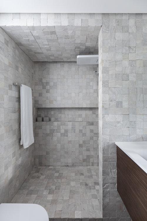 Kleine badkamers voorbeelden ruime inloopdouche