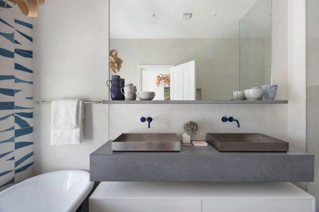 Kleine badkamers voorbeelden vrijstaand bad