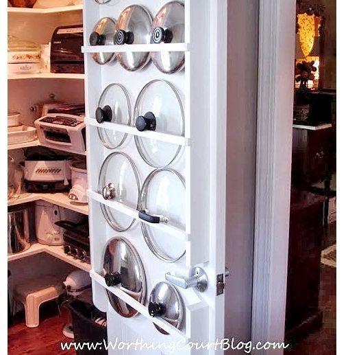 Kleine keuken inrichten benut de binnenkant van de deuren