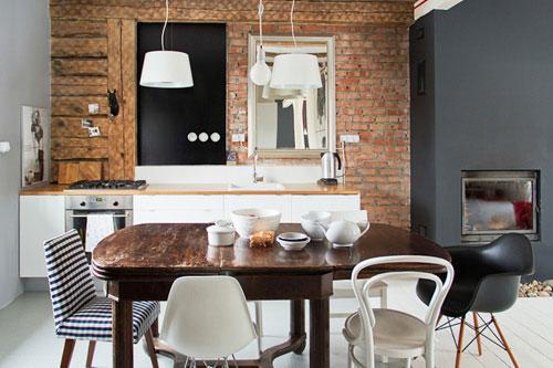 Gezellige Kleine Keuken : Kleine keuken uit polen Interieur inrichting