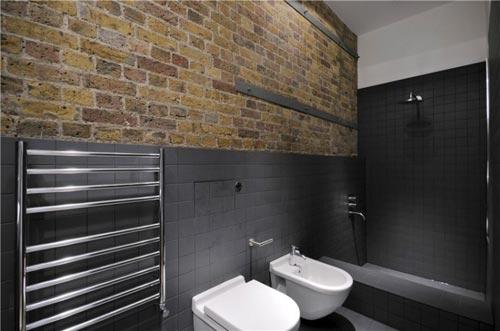 Kleine moderne stoere badkamer | Interieur inrichting