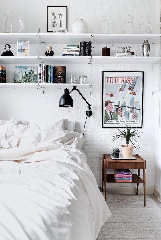 Kleine slaapkamer optimaal benutten