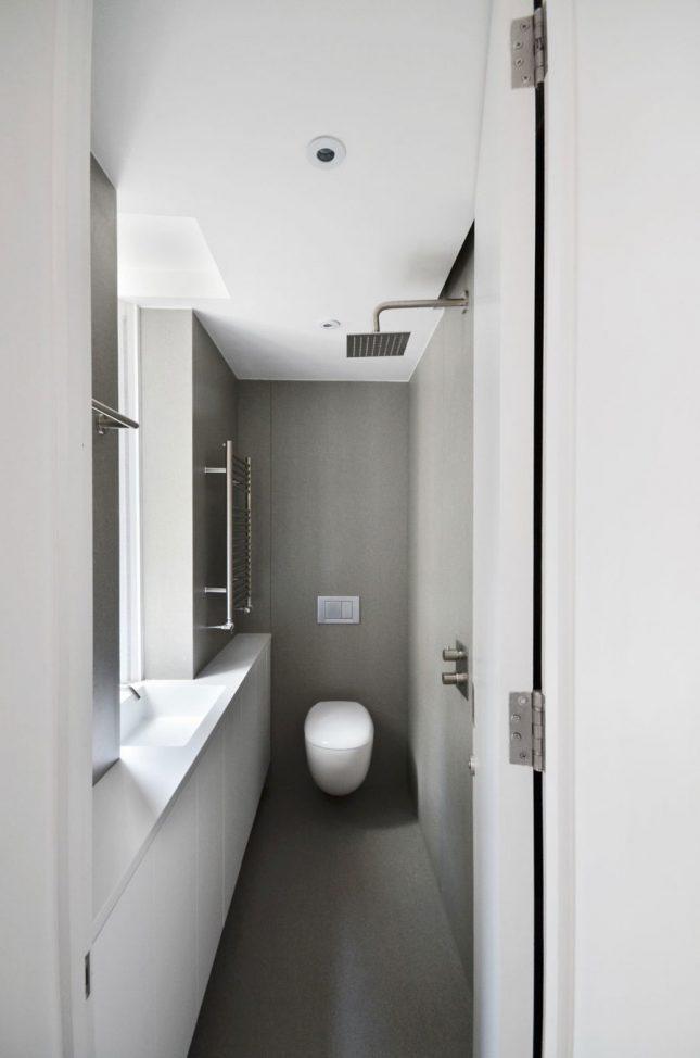 Kleine smalle badkamers voorbeelden