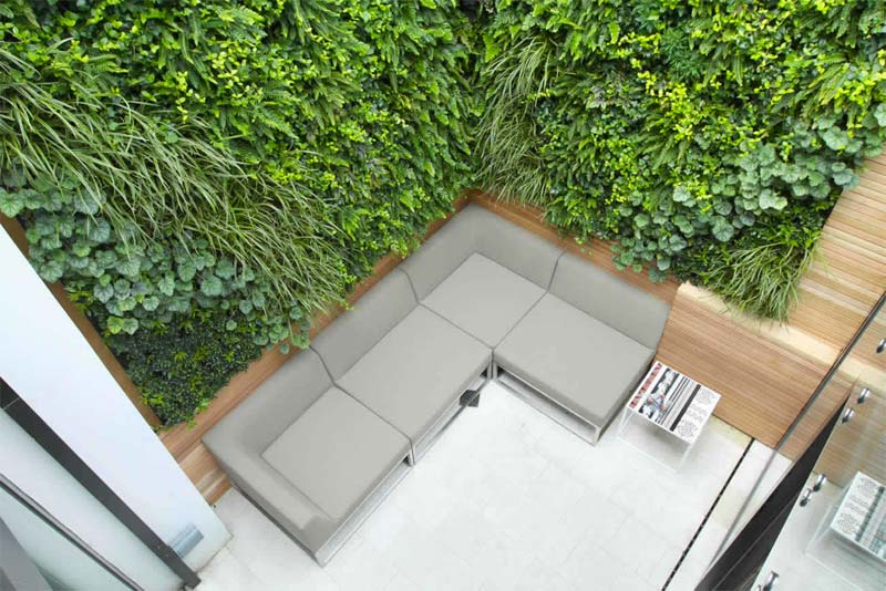 kleine tuin inspiratie luxe moderne kleine tuin