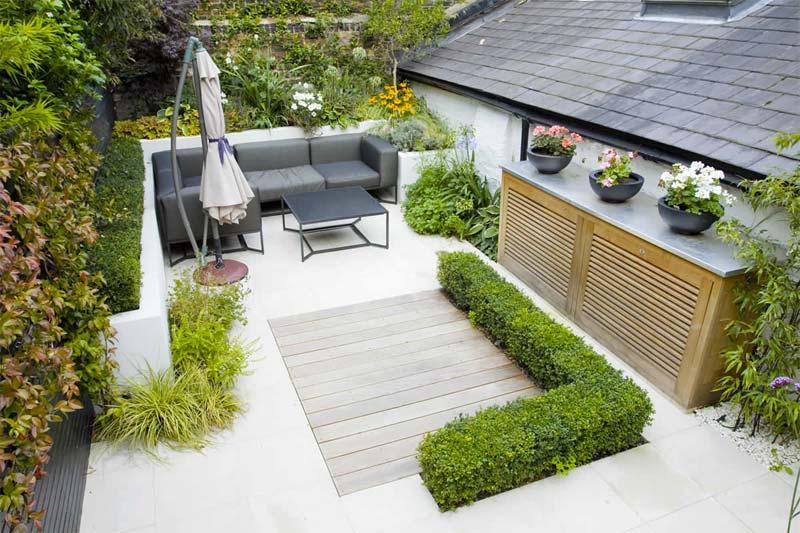 kleine tuin inspiratie schilderachtige tuin