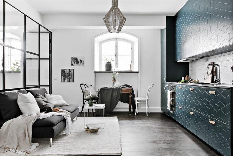 Kleine woonkamer ideeën open keuken