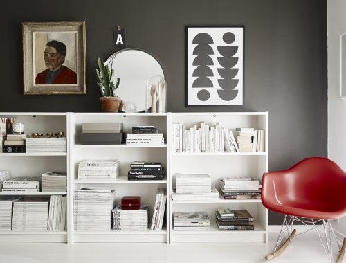 Hoekbank opstelling in de woonkamer interieur inrichting - Een klein appartement ontwikkelen ...