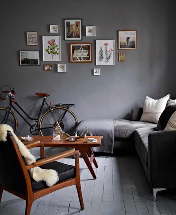 kleine woonkamer interieur inrichting
