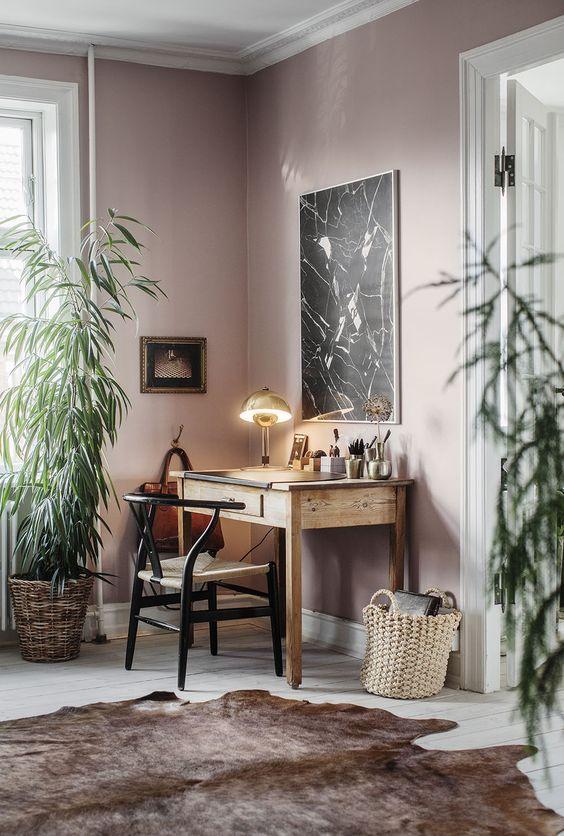 Kleur van het jaar 2018 Heart Wood roze