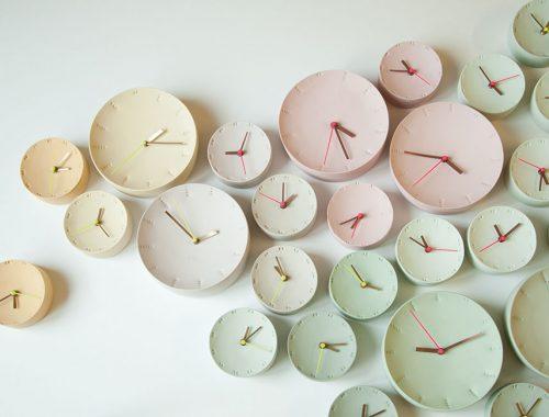De klok van Elke van den Berg