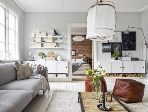 Knus Scandinavisch appartement