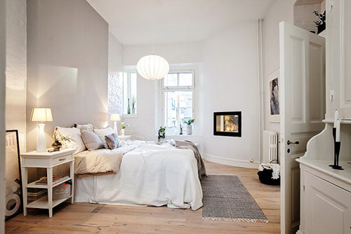 Knusse slaapkamer | Interieur inrichting