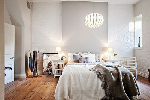Slaapkamer Gezellig Maken : Knusse slaapkamer interieur inrichting