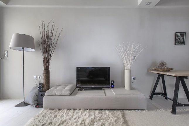 Knusse woonkamer met lichte kleuren | Interieur inrichting