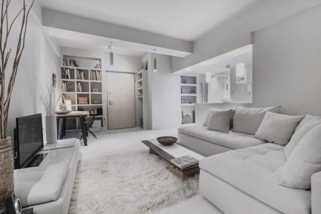 Vaak Knusse woonkamer met lichte kleuren | Interieur inrichting UU81