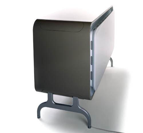 Moderne koelkast vriezer combinatie door GRO design