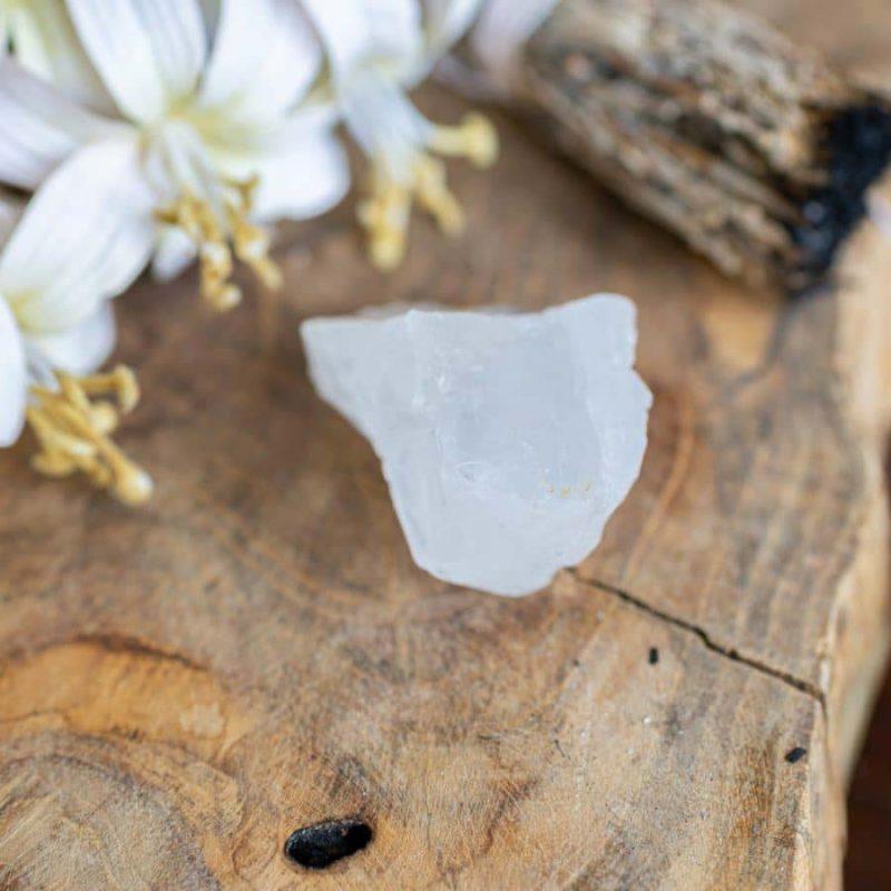 kristallen in huis bergkristal