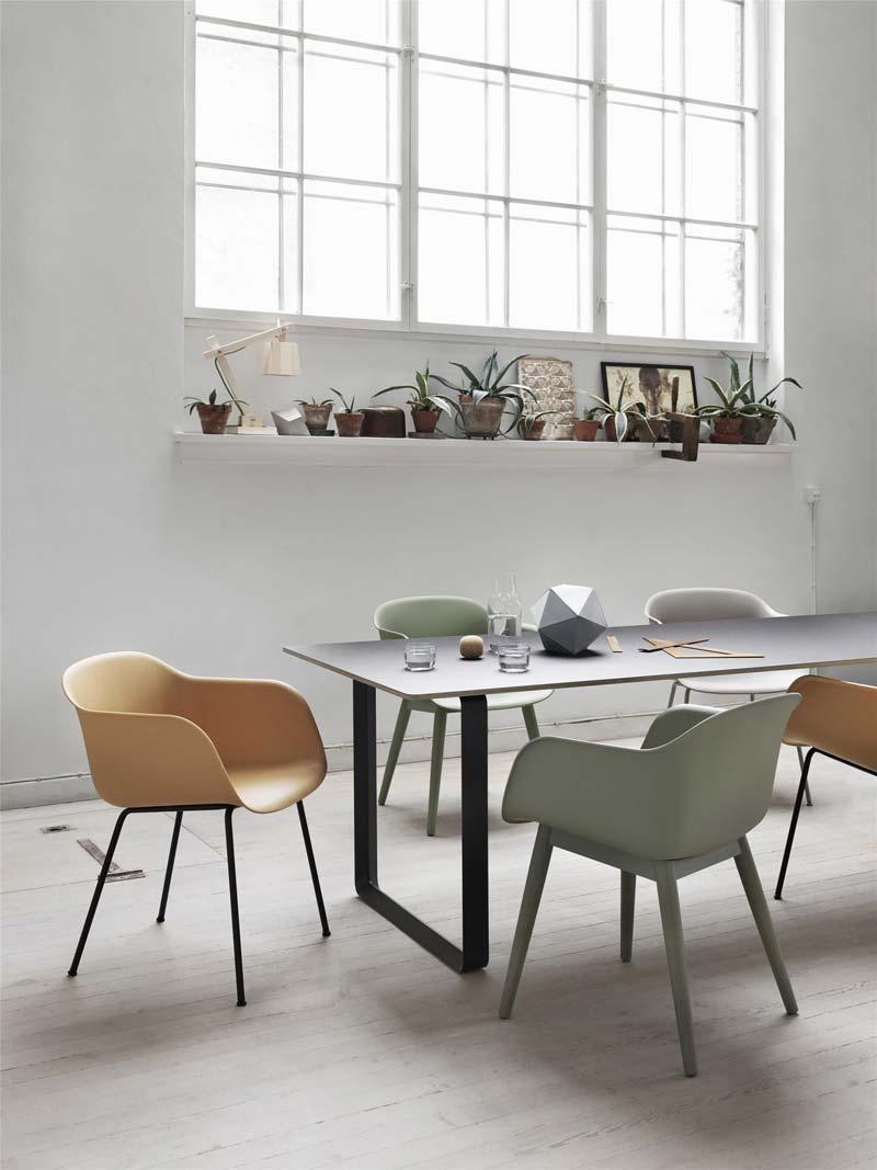 Kuipstoel Muuto Fiber Chair