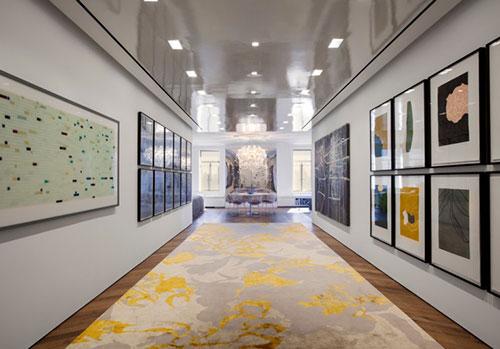 Kunst galerij in de hal