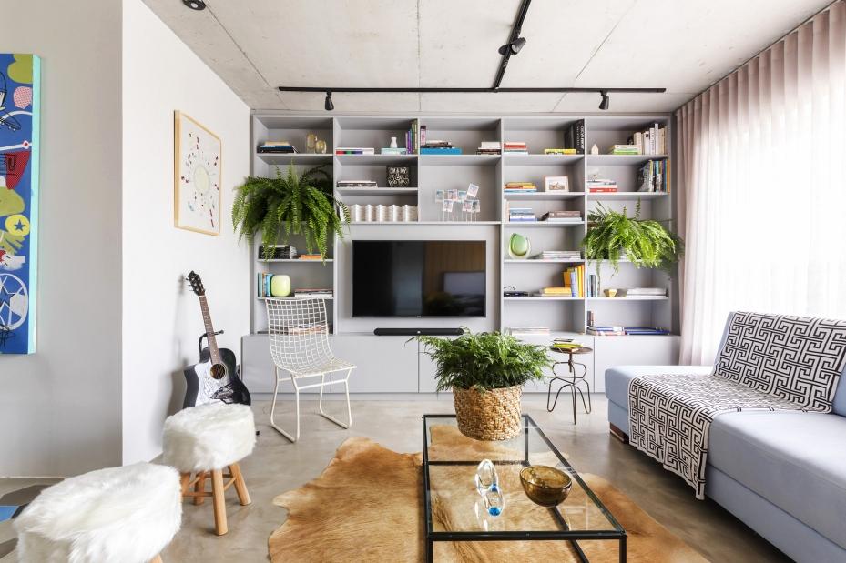 l-vormige woonkamer