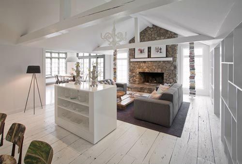 l vormige woonkamer inrichten interieur inrichting
