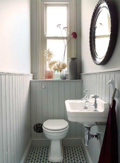 Lambrisering In Het Toilet Interieur Inrichting