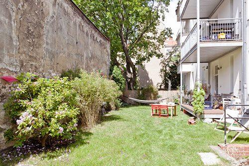 Landelijk wonen in de stad Berlijn